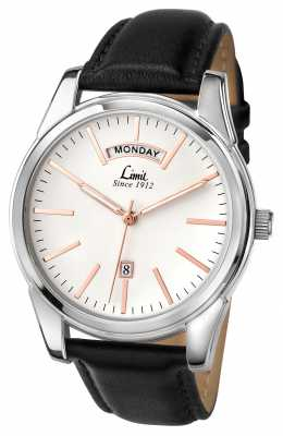 Limit Mens Black Strap White Dial 5483.01