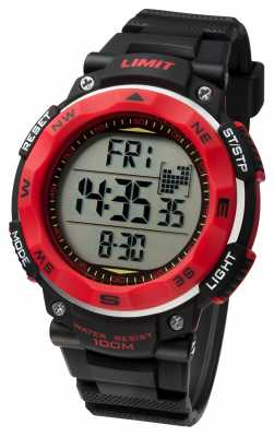 Limit Mens Sport Watch Black Strap 5486.01