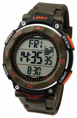 Limit Mens Sport Watch Khaki Strap 5488.01