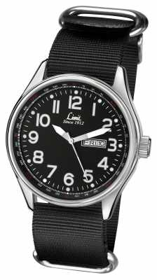 Limit Mens Black Strap Black Dial 5493.01
