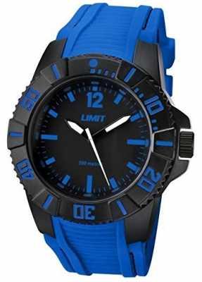Limit Mens Active Blue Strap Black Dial 5546.02