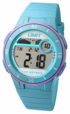 Limit Womans Blue Strap Digital Dial 5558.24