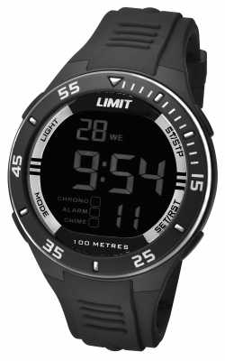 Limit Mens Black Strap Digital Dial 5571.24