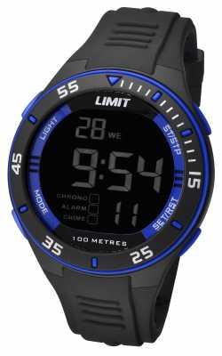 Limit Mens Black Strap Digital Dial 5573.24
