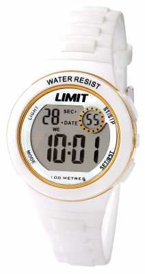 Limit Childrens White Strap Digital Dial 5581.24