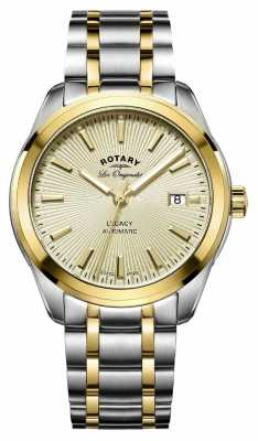 Rotary Mens Les Originales Legacy Automatic Two Tone GB90166/03