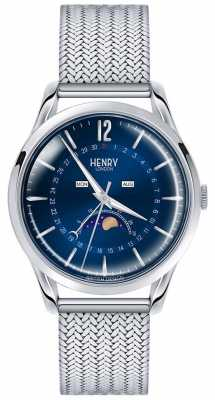 Henry London Mens Moonphase Stainless Steel HL39-LM-0085