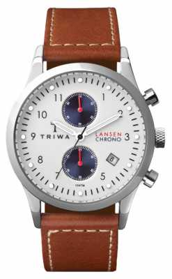 Triwa Mens Duke Lansen Brown Leather Strap LCST113-SC010215