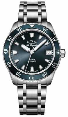 Rotary Womens Legacy Ocean Automatic Blue Dial Stainless Steel LB90168/05
