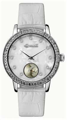 Ingersoll Womens Union The Disney White Leather Strap ID00701