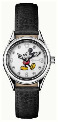 Ingersoll Womens Union The Disney Black Leather White Dial ID00902