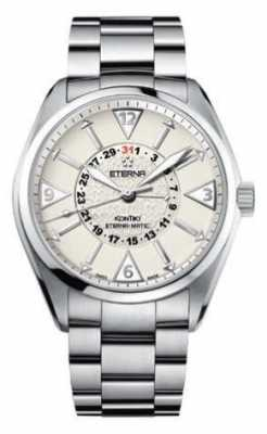 Eterna Mens Kontiki Four Hand Automatic Cream Dial 1592.41.11.0217