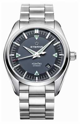 Eterna Mens Kontiki Three Hand Automatic Steel Strap 1222.41.41.0217