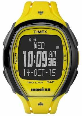 Timex Unisex Indiglo Iron Man Alarm Chronograph Yellow TW5M00500