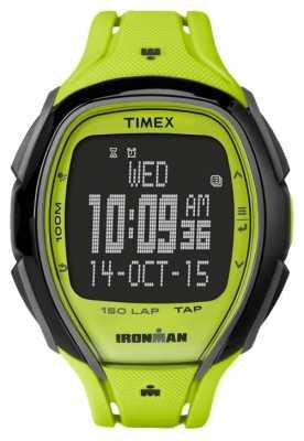Timex Mens Indiglo Iron Man Sleek Alarm Chronograph Green Black TW5M00400