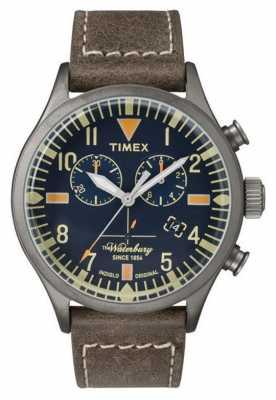 Timex Mens The Waterbury Chronograph Navy Dial TW2P84100