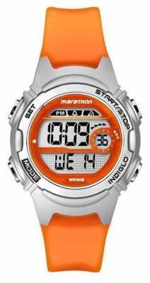 Timex Childrens Marathon Alarm Chronograph Orange TW5K96800