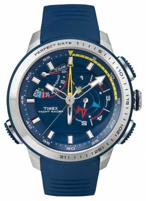 Timex Mens Yacht Racer Chronograph Blue TW2P73900
