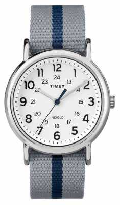 Timex Mens Weekender Watch Blue Grey TW2P72300