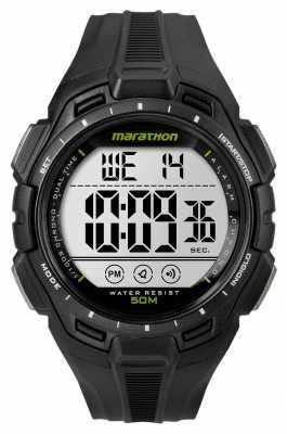 Timex Mens Iron Man Marathon Alarm Black TW5K94800