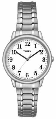 Timex Womans Silver Tone Easy Reader TW2P78500