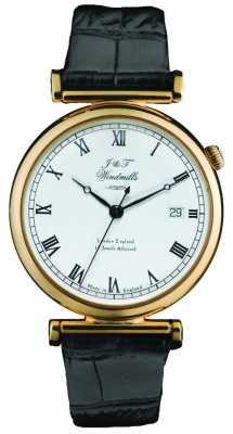 J&T Windmills Mens Mechanical Bartholomew Gold Watch WGS50003/09