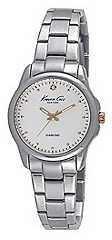 Kenneth Cole Womens Stainless Steel Bracelet Silver Dial KC10026478