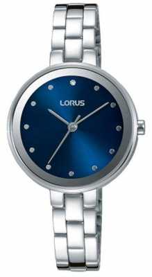 Lorus Womens Stainless Steel Blue Dial RG259LX9