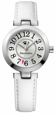 Juicy Couture White leather Brass & Ionic Plating Steel 1901461