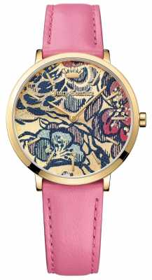 Juicy Couture Womens Ultra Slim Pink Leather Strap 1901456