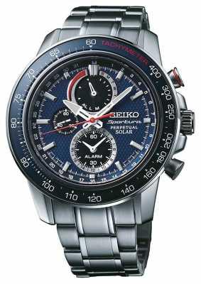 Seiko Mens Sportura Chronograph Alarm SSC355P1