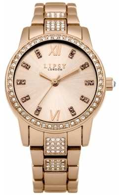 Lipsy Womens Rose Gold PVD Plated LP464