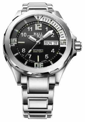 Ball Watch Company Mens Engineer Master II Diver Automatic Stainless Steel DM3020A-SAJ-BK