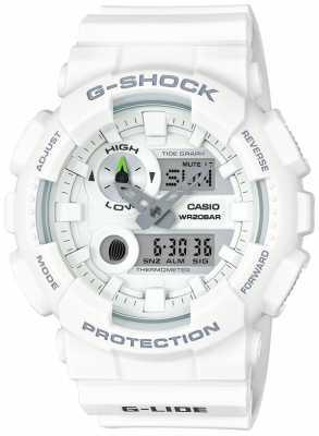 Casio Mens G-Lide White Resin GAX-100A-7AER
