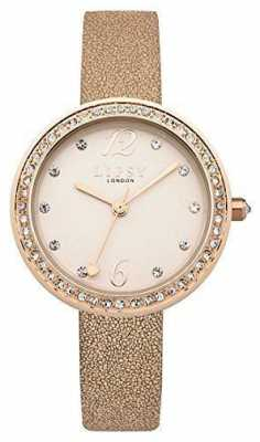 Lipsy Womans Rose Gold Strap Rose Gold Dial LP473