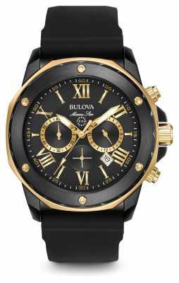 Bulova Mens Marine Star Chronograph Black 98B278