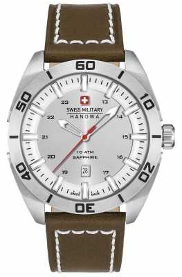 Swiss Military Hanowa Champ Brown Strap 6-4282.04.001