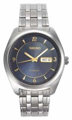 Seiko Stainless Automatic Stainless Steel Blue Dial SNKP01P9