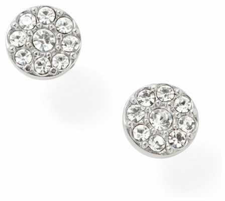 Fossil Womens Stainless Steel Stone Set Earrings JF00828040