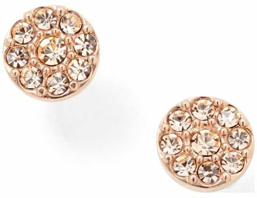 Fossil Womens PVD Rose Gold Plated Earrings JF00830791