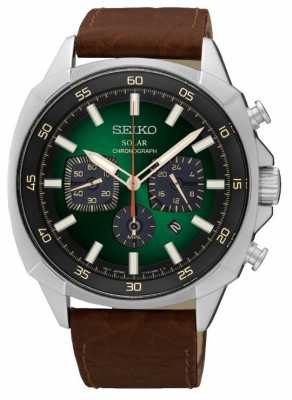 seiko mens solar powered chronograph ssc495p1