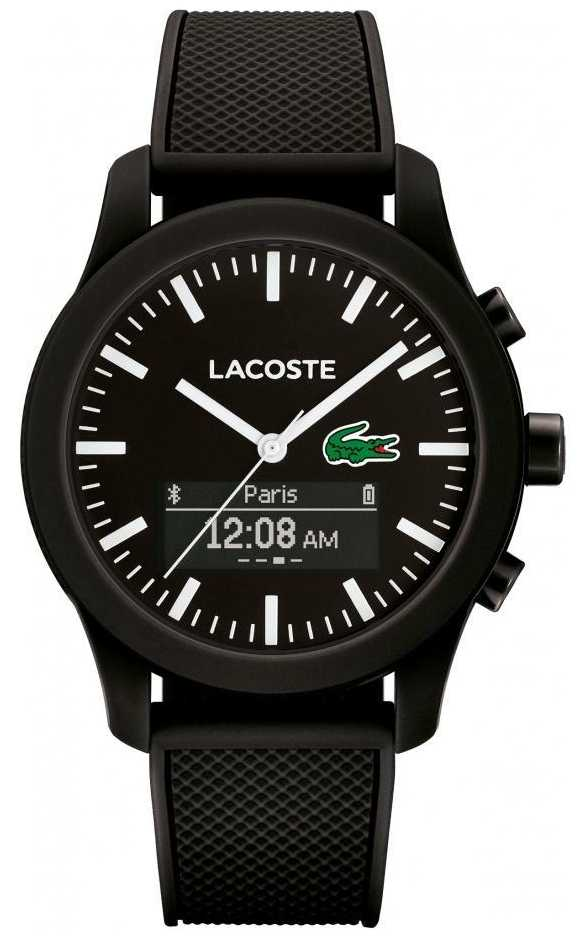 lacoste mens 12 12 bluetooth smart watch 2010881 lacoste 2010881