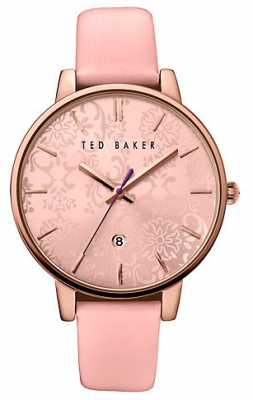 Ted Baker Womans Rose Gold Case Pink TE10030693