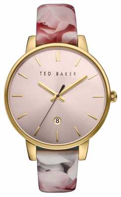 Ted Baker Womans Rose Gold Case Pink TE10030695