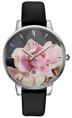 Ted Baker Womans Stainless Steel Case Rose Dial TE10030746