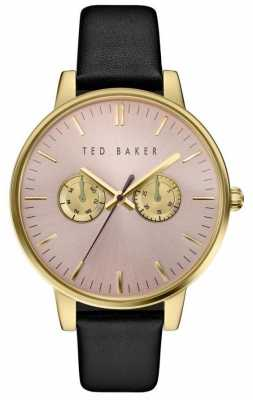 Ted Baker Womans Gold Case Multi-Function Dial TE10030749