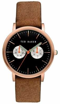 Ted Baker Mens Multi-function Dial Rose Gold Case TE10030761