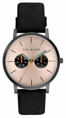 Ted Baker Mens Multi-function Dial Black Case TE10030762