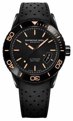 Raymond Weil Mens Automatic Black PVD Plated Steel 2760-SB2-20001