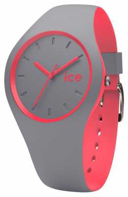 Ice-Watch Unisex Duo Grey Coral Grey Silicone Strap DUO.DCO.U.S
